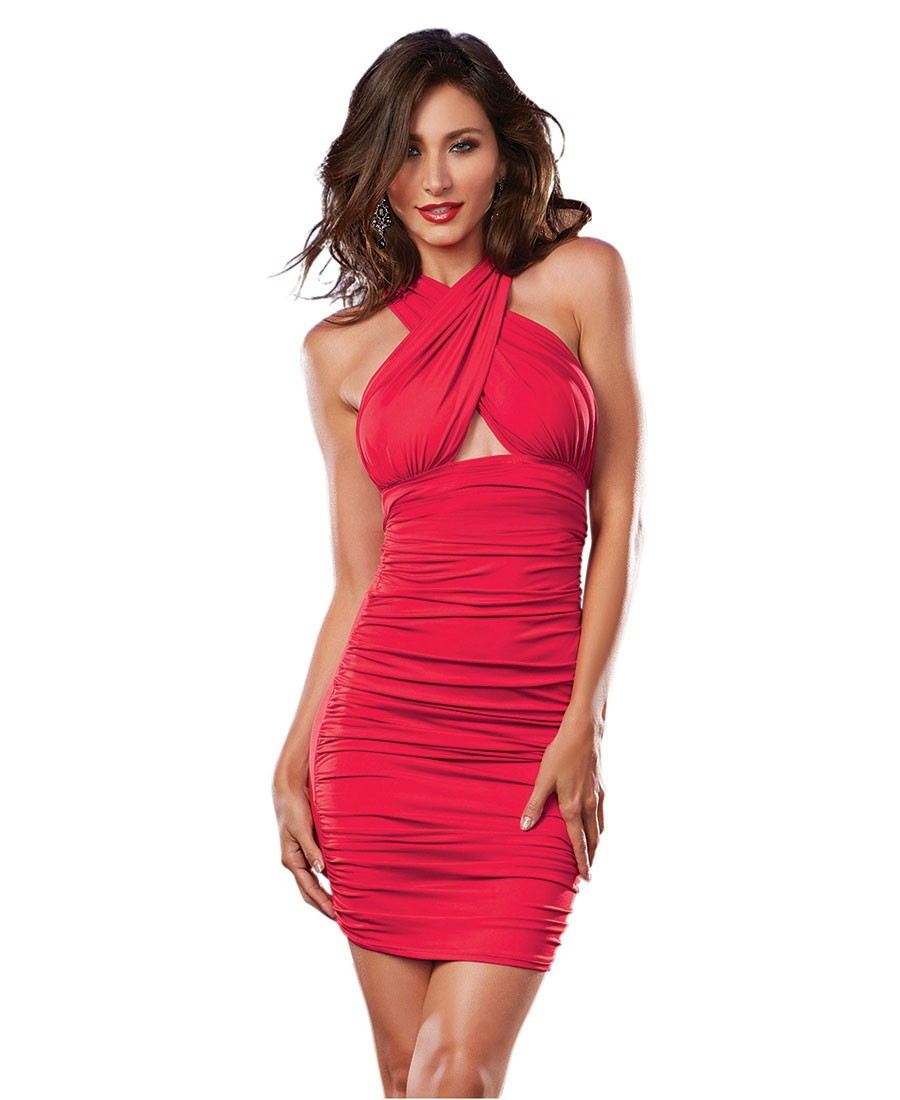 Versatile Ruched Dress