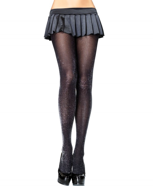 Glitter Lurex Tights Pantyhose