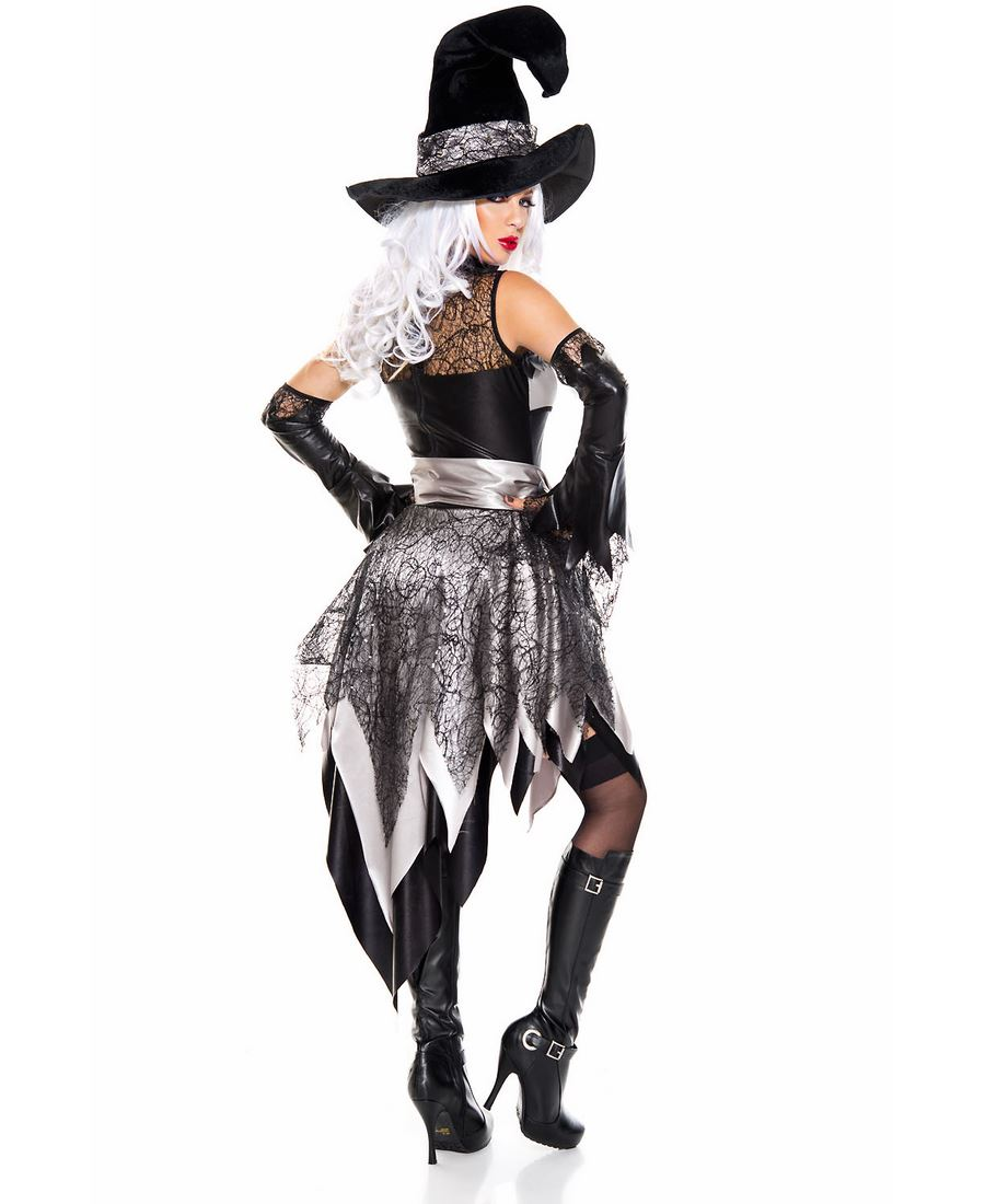 New Music Legs 70815 Glam Witch Costume