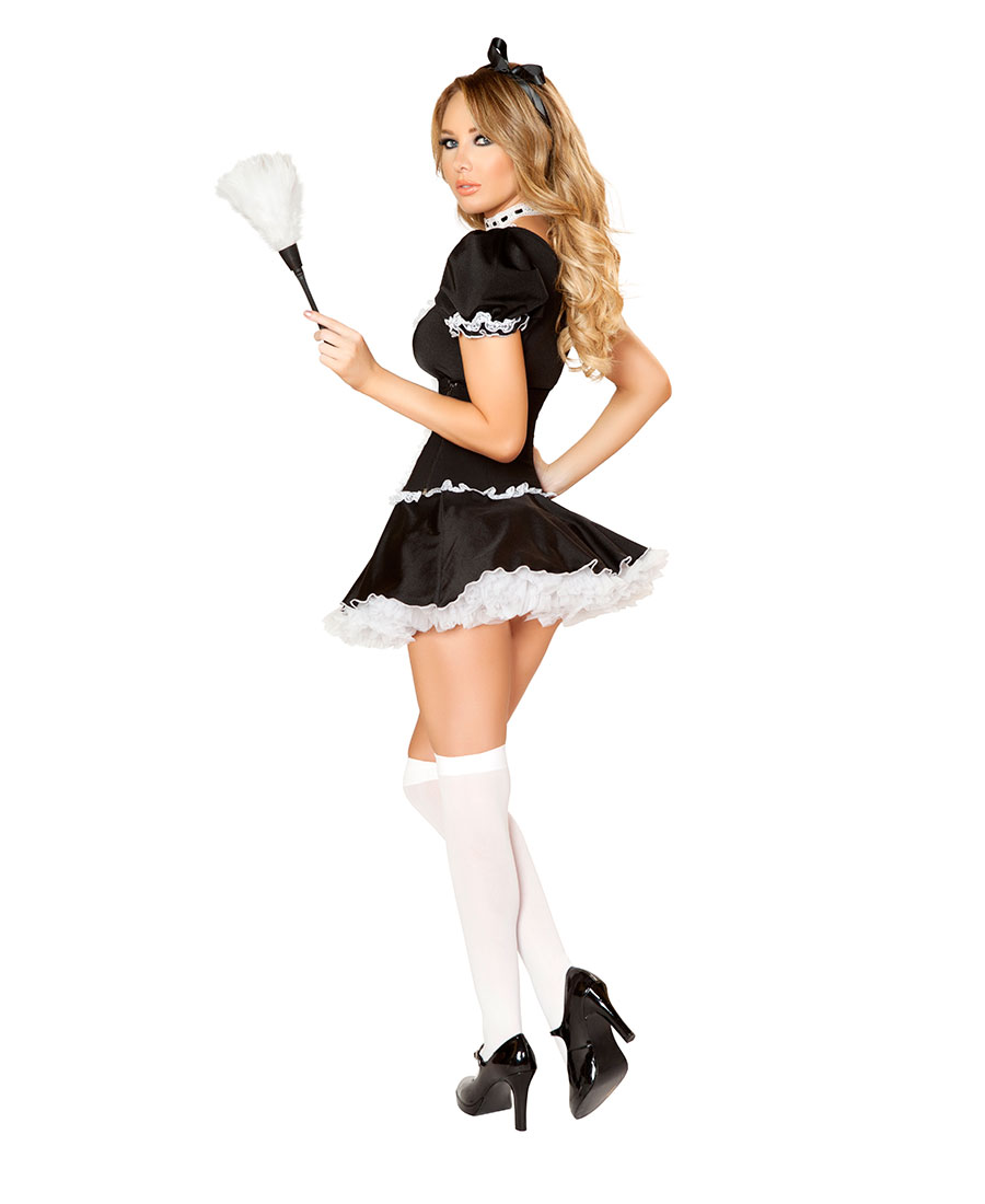 Music Legs 70918 Badly Behaved Maid Costume